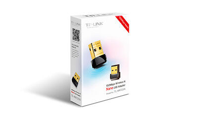 BUY 1 GET 1 FREE !!! TP-Link TL-WN725N 150Mbps Wi-Fi Nano USB Adapter Dongle