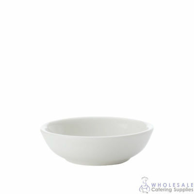 12x Sauce Dish Round 10cm Maxwell & Williams White Basics Soy Condiment Dip NEW
