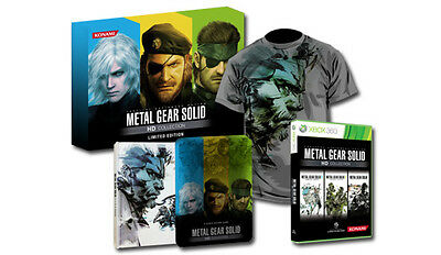 Metal Gear Solid HD collection Limited edition XBOX 360 NEW & SEALED last copy