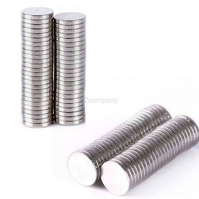 Lots Super Strong 50-200pc Round Disc Magnets Rare-Earth Neodymium Magnet N35/50