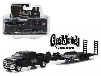 Greenlight Gas Monkey Garage Dodge Ram And Trailer Hitch Tow