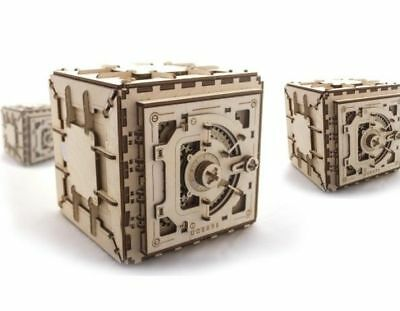 New Model Ugears Safe Is Mechanical Kit 3D Puzzle Wooden For Self-Assembly