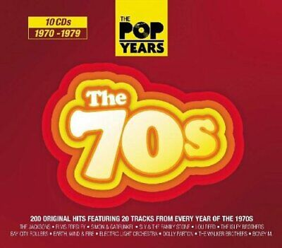 Various Artists - The Pop Years - The 70s - Various Artists CD 2YVG The Cheap