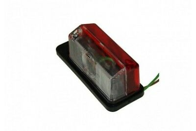 MP8191B Radex Red/White Side Marker Lamp Bk (925/1L-6)