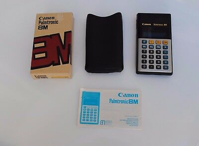 CANON PALMTRONIC 8M - Calculator LED - vintage - Calculadora