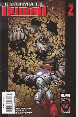 ULTIMATE HUMAN   2   ..VF/VF+- .....2008....IRON MAN/HULK!...Bargain!