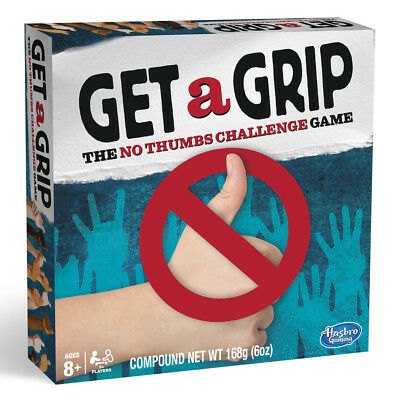 Get a Grip Game The No Thumbs Challenge Hasbro Gaming - NEW