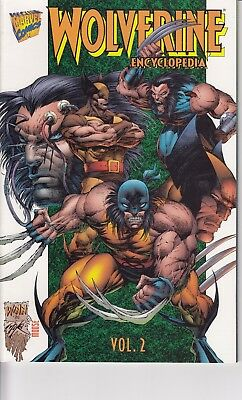 WOLVERINE ENCYCLOPEDIA  VOLUME 2 ......NM-   .....1996..........Bargain!