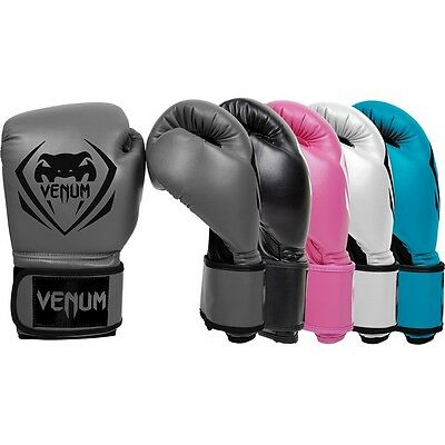 Venum Boxing Gloves Contender Blue White Pink 8 10 12 14 16oz