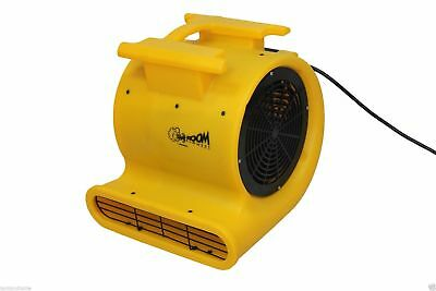 New Floor Dryer - Zoom Centrifugal  1.0 HP Dryer Carpet Air Mover Zoom Blowers