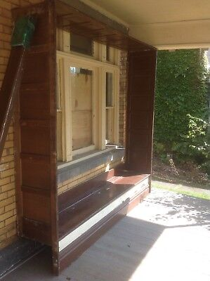 Built In Hall Bench/Deacons Bench/Window Bench