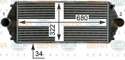 8ML 376 700-541 HELLA Intercooler  charger