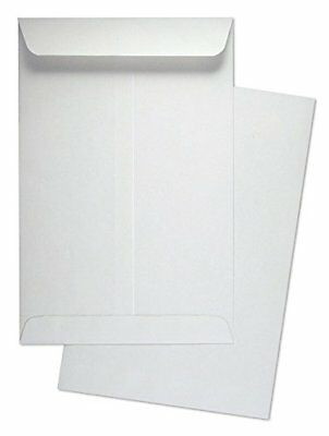 "6"" x 9"" Premium White Wove Catalog / Open End Envelopes, 500 Count- 2300"