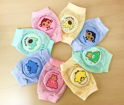Infants Toddlers Baby Kids Safety Elbow Crawling Cushion Knee Protector Pad