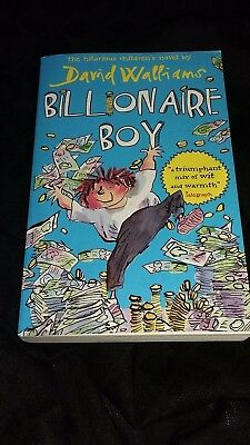 Billionaire Boy by David Walliams. Used, in Excellent condition.