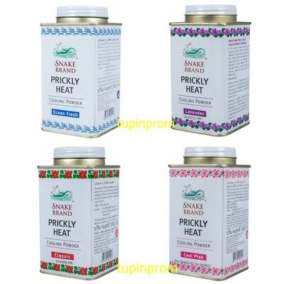 Snake Brand Cooling Powder Prickly Heat Soothing Body Fresh Scent Nice Best 150G