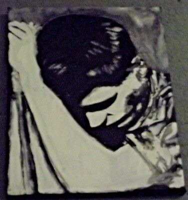 JOY DIVISION , IAN CURTIS ,.HAND PAINTED canvas .12X9  INS..READY TO HANG