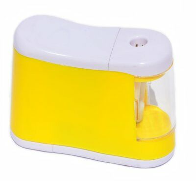 Pencil Sharpener Automatic Electric Touch Battery Personal Office School Desktop