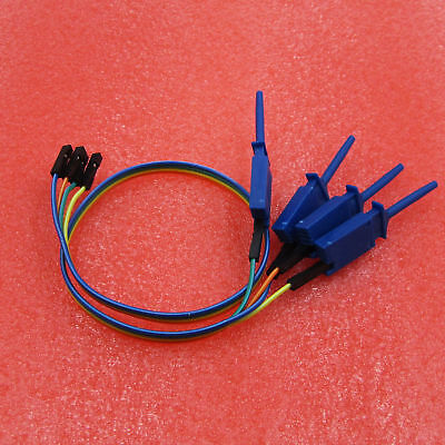 Test Clamp Wire Hook Test Clip for Logic Analyzer Electronic Components NEW