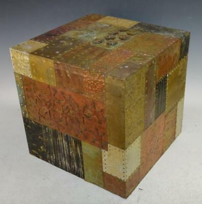 Paul Evans Style Cube Side Table Lot 24