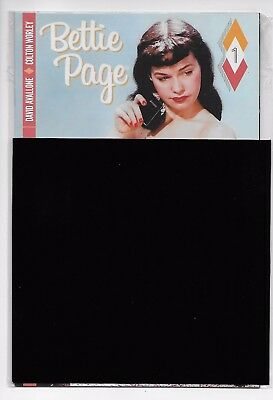 Bettie Page #1 - Black Bag Nude Variant (Dynamite, 2017) - New/Sealed (NM)