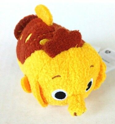 Disney Pixar Mini Tsum Tsum Sheldon Finding Nemo 3.5 inch Orange Plush Seahorse