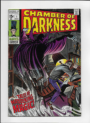 Chamber of Darkness 1 F (cover dimpling) (Marvel - Oct. 1969) 40% Off Guide!