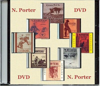N. Porter Catalogs on DVD.  Saddles, Bits, Spurs, Gun Leather and more