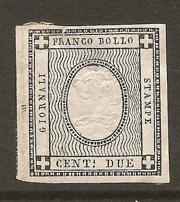 Italy Sardinia P2 Unused No Gum, Free Shipping In Usa