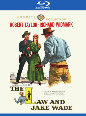 The Law And Jake Wade [New Blu-ray] Manufactured On Demand, Amaray Case, Digit