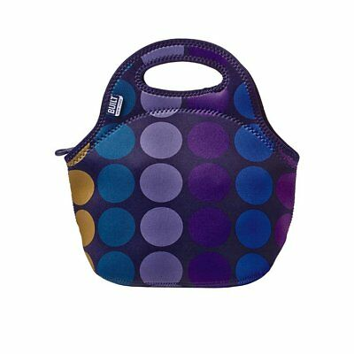 NEW BUILT NY Gourmet Getaway Lunch Tote Plum Dot (RRP $40)