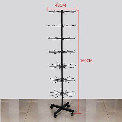 70 Hook Rotating Display Stand Rack Shop Display Rotate Spin Jewelery Bag Holder
