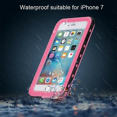 Waterproof Shockproof Dirtproof IP68 Tough Case 360° Cover For iPhone 7 / 8 Plus