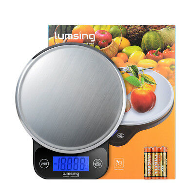 5kg Digital LCD Electronic Kitchen Scales Weighing Cooking Food Postal Balance