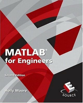 MATLAB FOR ENGINEERS by Holly Moore - $4 23 | PicClick
