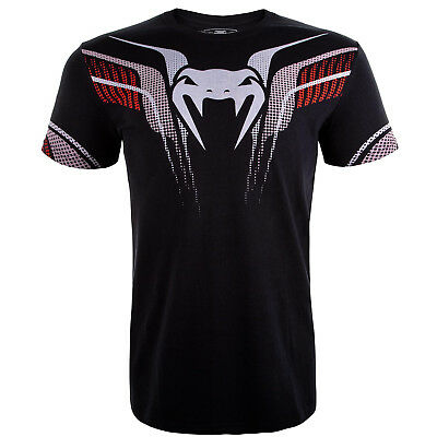 Venum MMA Elite T Shirt BJJ Training Casual Top Martial Arts Gym Kick boxing