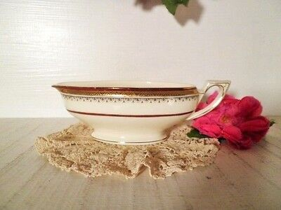 Vintage Gravy Boat Myott The Crowning Queen Eliz Ii 1953 Commerative Royal Crown