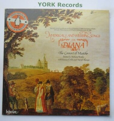 A 66019 - MADRIGALS & WEDDING SONGS FOR DIANA - Consort Of Musicke- Ex LP Record