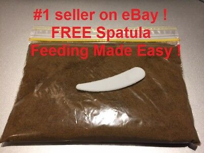 High Protein baby fish food dust powder For all baby fish, fry, shrimp