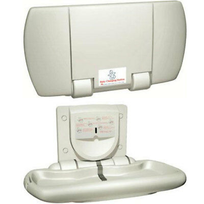 JD MacDonald Surface Mounted Parallel Baby Change Station 109012