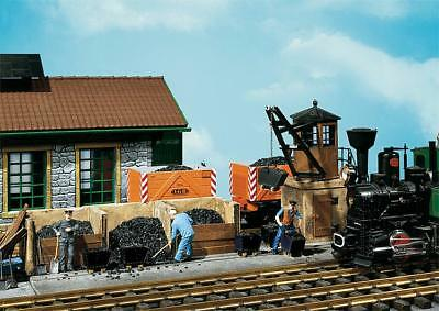 Pola G Scale 1/22.5 Small Coaling Station Building Kit | Ships From Usa | 330920