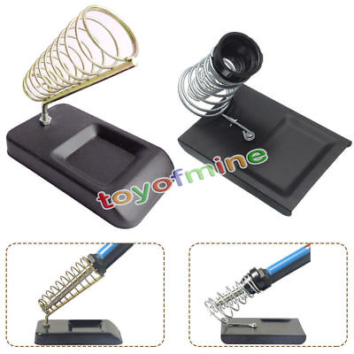 Adjustable Alloy Soldering Solder Iron Support Stand Holder Bracket Base