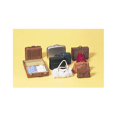 Preiser G Scale 1/22.5 Assorted Luggage Set | Ships In 1 Business Day | 45218
