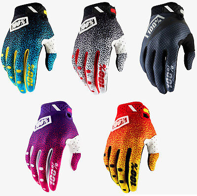 2018 100% Ridefit Motocross Gloves Enduro Racing Mtb Bmx 100 Percent New Bike
