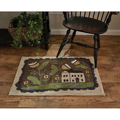 Whimsey Cottage Hand Hooked Rug By Park Designs 24 X 36 7495