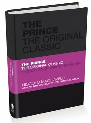 The Prince the Original Classic by Niccolo Machiavelli 9780857080783