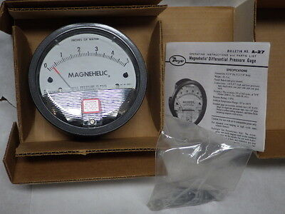 Dwyer 2005 Series 2000 Magnehelic Differential Pressure Gage NEW