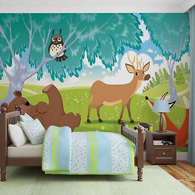 WALL MURAL PHOTO WALLPAPER XXL  Animals In Forest (1332WS)