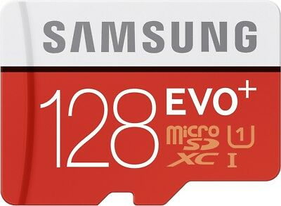 Samsung Evo Plus mc128d 128gb Uhs-i Class 10 Micro SD Card with Retail Packaging