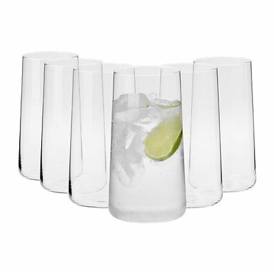NEW Krosno Vinoteca Tapered Tall Tumbler 540ml Set of 6